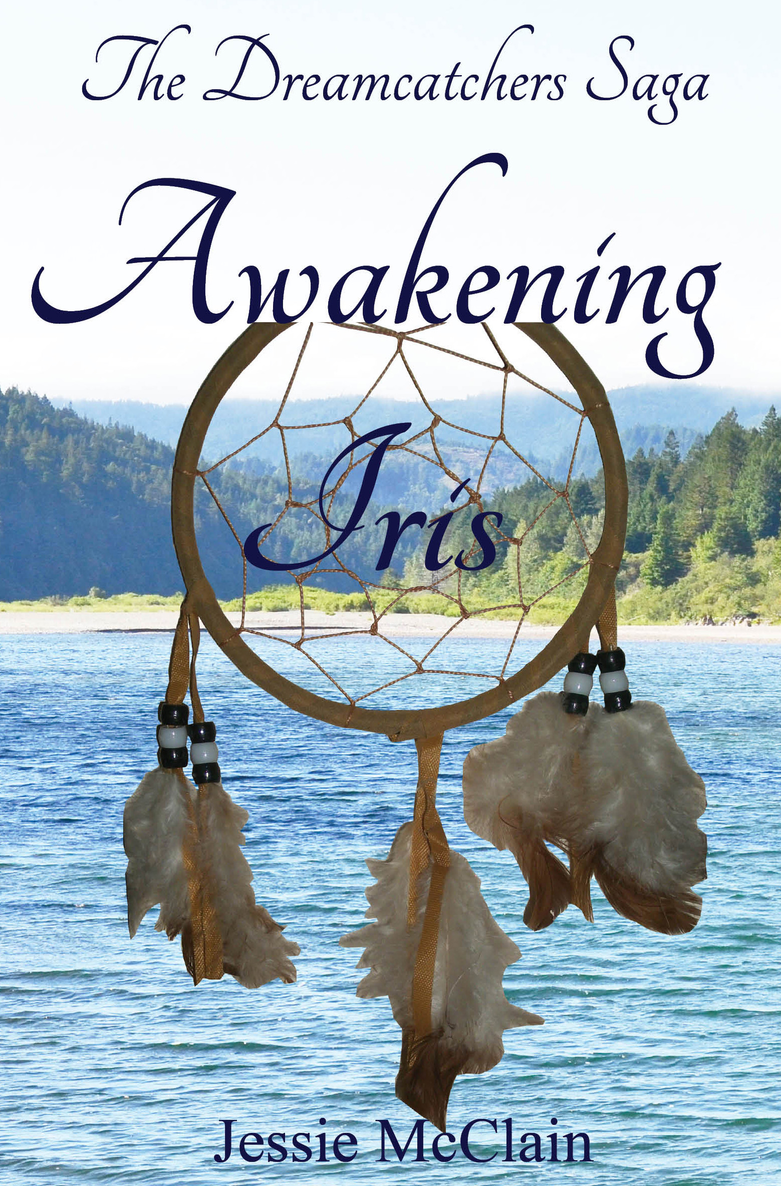 book cover for Awakening Iris