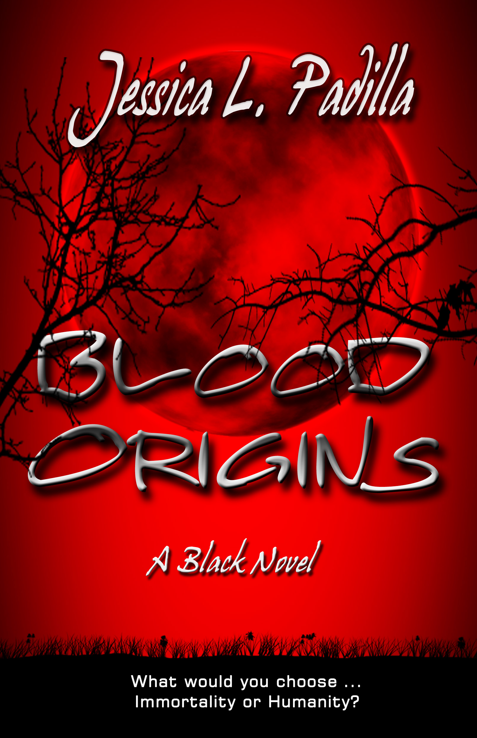 book cover for Blood Origins