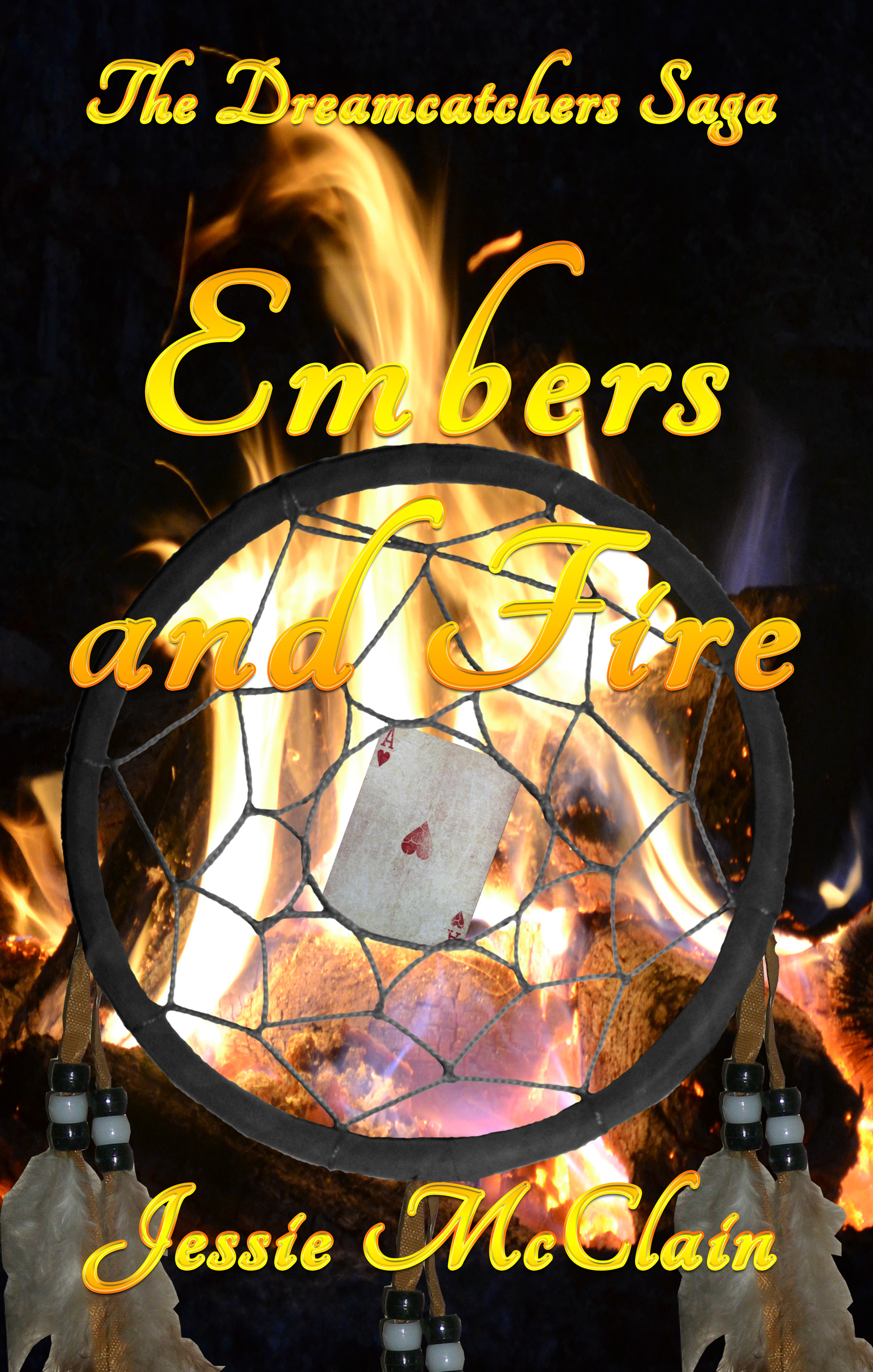 book cover for Embers and Fire